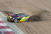 British GT Championship car of Stratton Motorsport driven by Robin Shute and Will Hunholz spins out during the British GT Championship Round 1 practice and qualifying at Brands Hatch, Longfield, England on 16 April 2016. Photo by David Horn.