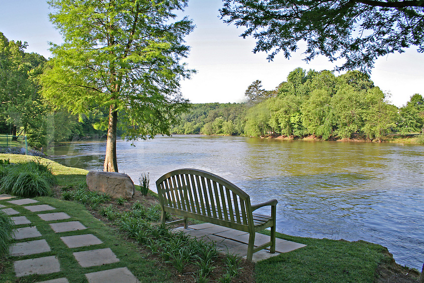 Chattahoochee River National Recreation Area near Atlanta Georgia