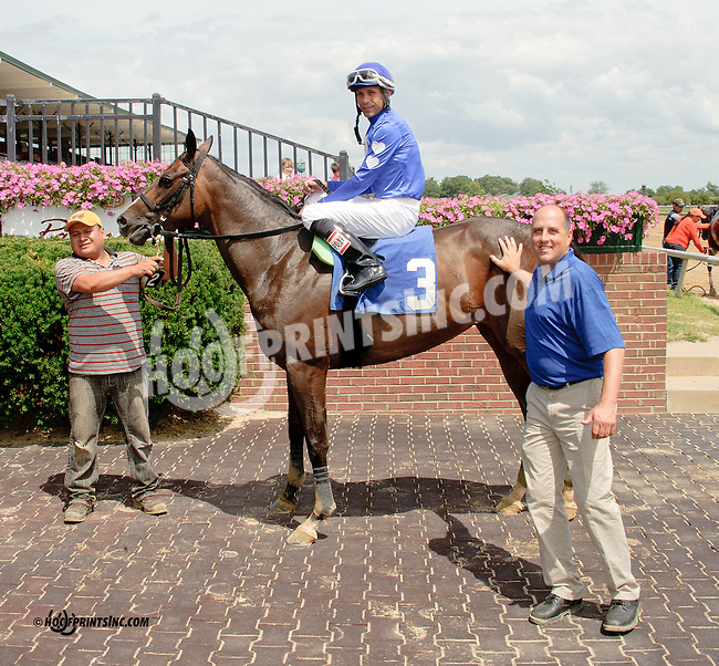 Georgia Brae winning at Delaware Park on 8/11/14