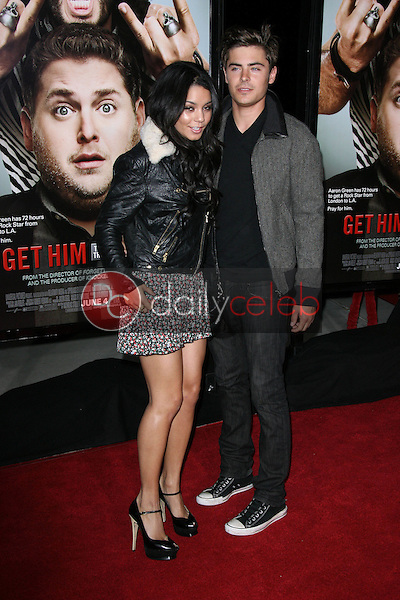 Vanessa Hudgens, Zac Efron<br />