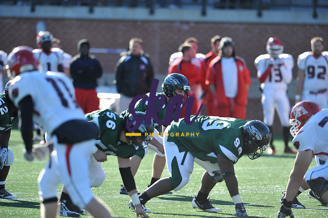 In the last home game of the season the Mustangs fell 57 - 21 to the Albright Lions.