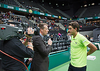 10-02-14, Netherlands,Rotterdam,Ahoy, ABNAMROWTT,, , Jesse Huta Galung(NED)<br /> Photo:Tennisimages/Henk Koster