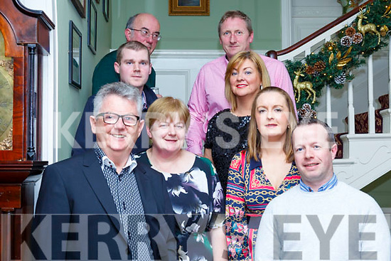 Staff of MJ Carroll Hardware, Listowel  company attending their Christmas party at the Listowel Arms Hotel on Saturday night last.