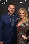 """Eddie Perfect and Lucy Cochran attends the Broadway Opening Night of """"King Kong - Alive On Broadway"""" at the Broadway Theater on November 8, 2018 in New York City."""