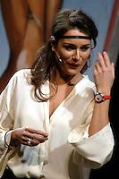 ALENA SEREDOVA - LA SIGNORA IN ROSSO NELLA FOTO ALENA SEREDOVA DURANTE LO SPETTACOLO SPETTACOLI BRESCIA 28/02/2005 FOTO MATTEO BIATTA<br /> <br /> ALENA SEREDOVA - LA SIGNORA IN ROSSO IN THE PICTURE ALENA SEREDONA DURING THE SHOW BRESCIA 28/02/2005 PHOTO BY MATTEO BIATTA