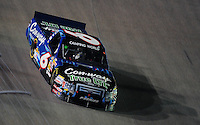 Nov. 6, 2009; Fort Worth, TX, USA; NASCAR Camping World Truck Series driver Colin Braun during the WinStar World Casino 350 at the Texas Motor Speedway. Mandatory Credit: Mark J. Rebilas-