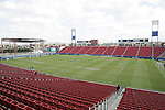 14 December 2008: Pizza Hut Park. The University of Maryland Terrapins defeated the University of North Carolina Tar Heels 1-0 at Pizza Hut Park in Frisco, TX in the championship game of the 2008 NCAA Division I Men's College Cup.
