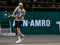 Rotterdam, The Netherlands, 9 Februari 2020, ABNAMRO World Tennis Tournament, Ahoy, Adrian Mannarino (FRA).<br /> Photo: www.tennisimages.com