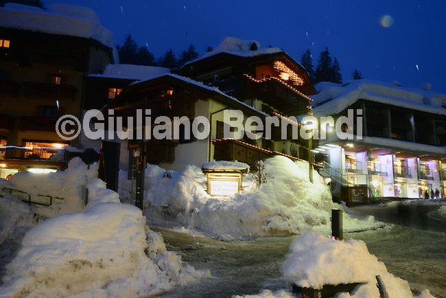 Madonna di Campiglio by night<br />