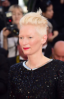 www.acepixs.com<br /> <br /> May 23 2017, Cannes<br /> <br /> Tilda Swinton arriving at the 70th Anniversary of the annual Cannes Film Festival at Palais des Festivals on May 23, 2017 in Cannes, France.<br /> <br /> By Line: Famous/ACE Pictures<br /> <br /> <br /> ACE Pictures Inc<br /> Tel: 6467670430<br /> Email: info@acepixs.com<br /> www.acepixs.com