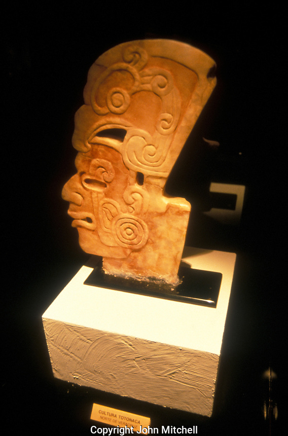 Pre-Columbian Totonac sculpture from the norhern part of Veracruz state, Mexico. On display in the Pedro Coronel Museum in Zacatecas, Mexico.