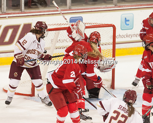- The Boston College Eagles defeated the visiting Cornell University Big Red 6-2 on Friday, October 24, 2014, at Kelley Rink in Conte Forum in Chestnut Hill, Massachusetts.