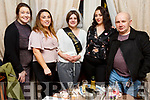 Sonia Sobczyk from Killorglin, who is getting married on Wednesday in Killarney enjoying her hen night in Croi on Friday night. L-r, Leona Fitzmaurice, Linda O'Leary, Nadine Sheehy and John Moriarty.