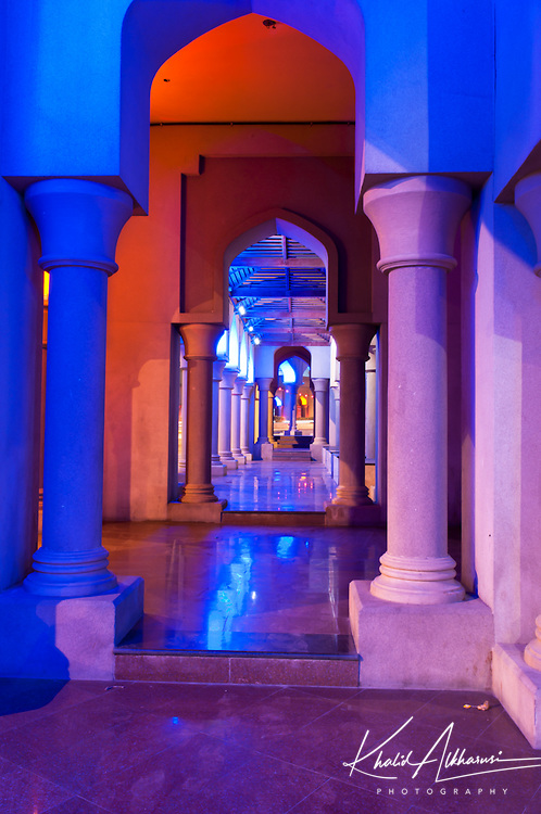colorful Arches in Muttrah
