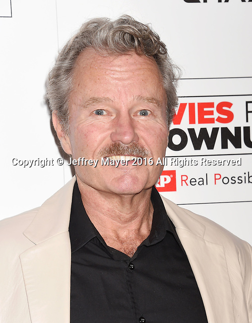 BEVERLY HILLS, CA - FEBRUARY 08: Actor John Savage attends AARP's Movie For GrownUps Awards at the Regent Beverly Wilshire Four Seasons Hotel on February 8, 2016 in Beverly Hills, California.