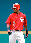 5 August 2007: Washington Nationals outfielder Nook Logan in action against the St. Louis Cardinals at RFK Stadium in Washington, DC. The Nationals defeated the Cardinals 6-3 to sweep their 3-game series...Mandatory Photo Credit: Ed Wolfstein Photo