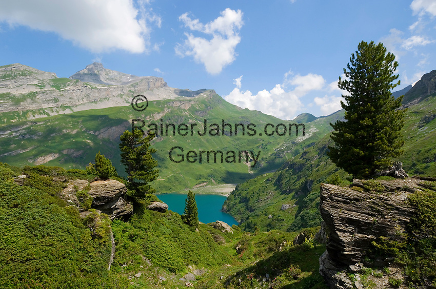 CHE, SCHWEIZ, Kanton Bern, Berner Oberland, Engstlenalp am Ende des Gentals: Wanderregion am Engstlensee | CHE, Switzerland, Bern Canton, Bernese Oberland, Engstlenalp at Gen Valley: hiking area at Lake Engstlen