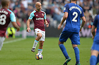 Pablo Zabaleta of West Ham during West Ham United vs Everton, Premier League Football at The London Stadium on 13th May 2018