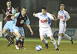 Drog's David Freeman (9) as Drogheda Utd V UCD in the Airtricity League. (result UCD 1 Drogheda Utd 0)..(Photo credit should read Jenny Matthews/www.newsfile.ie)....This Picture has been sent you under the conditions enclosed by:.Newsfile Ltd..The Studio,.Millmount Abbey,.Drogheda,.Co Meath..Ireland..Tel: +353(0)41-9871240.Fax: +353(0)41-9871260.GSM: +353(0)86-2500958.email: pictures@newsfile.ie.www.newsfile.ie.
