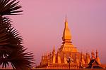 Phra That Luang, Vientiane, Laos at Dusk