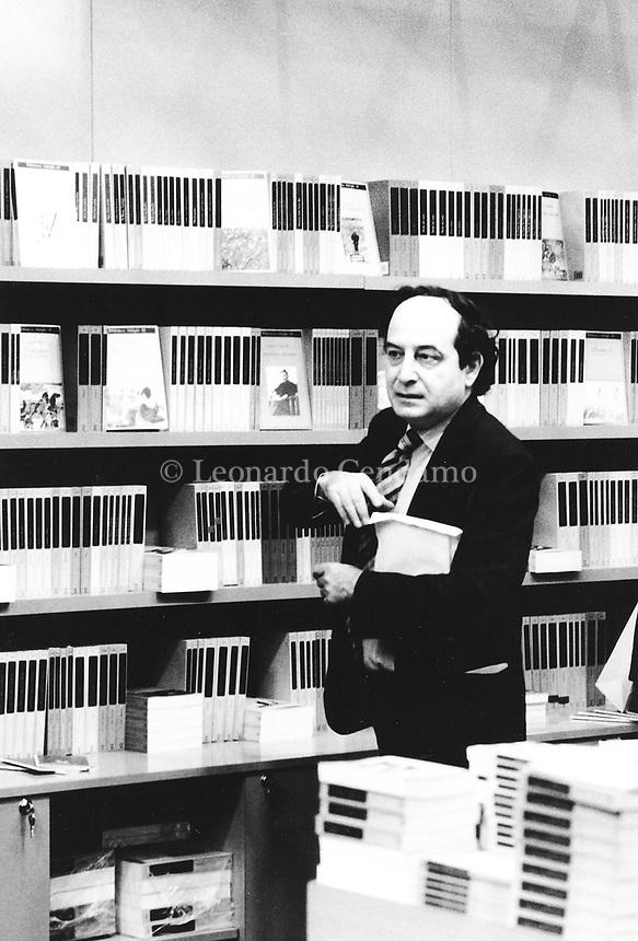 Roberto Calasso, italian writer and publishing Adelphi. © Leonardo Cendamo