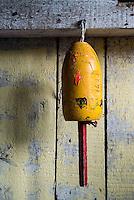 Lobster buoy.