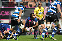 Will Genia of Stade Francais during the European Challenge Cup semi final between Stade Francais and Bath on April 23, 2017 in Paris, France. ( Photo by Andre Ferreira / Icon Sport )