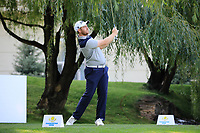 Max Orrin (ENG) during the first round of the Kazakhstan Open presented by ERG played at Zhailjau Golf Resort, Almaty, Kazakhstan. 13/09/2018<br /> Picture: Golffile | Phil Inglis<br /> <br /> All photo usage must carry mandatory copyright credit (&copy; Golffile | Phil Inglis)