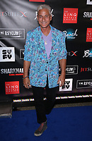 06 August 2017 - Las Vegas, NV - Greg Louganis.  Sharknado 5 Global Swarming red carpet premiere at Linq Hotel and Casino. Photo Credit: MJT/AdMedia