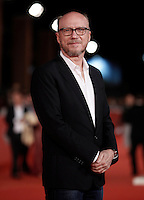 Il regista canadese Paul Haggis posa sul red carpet per la presentazione del film 'Truth' al Festival Internazionale del Film di Roma, 16 october 2015.<br /> Canadan director Paul Haggis poses on the red carpet to present the movie 'Truth' during the international Rome Film Festival at Rome's Auditorium, 16 October 2015.<br /> UPDATE IMAGES PRESS/Isabella Bonotto