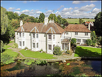A River Runs Through It - Stunning property with its own chalk stream.