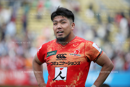 Shota Horie (Sunwolves), <br /> APRIL 23, 2016 - Rugby : Super Rugby match between Sunwolves 36-28 Jaguares at Prince Chichibu Memorial Stadium in Tokyo, Japan. (Photo by AFLO SPORT)