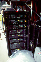 Stacks of Crest Amplifiers, Merriweather Post Pavilion, 20 June 1983, before the Grateful Dead Concert
