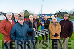Alderwood Road Residents fighting for sewerage scheme. Pictured front l-r Dermot Culloty, Sean Scollard, Mairead Moriarty, John Boyle, Back l-r Jim Maher, Michael Moloney, Paul Doyle, Lorcan McHale, Paul Hills and Gerry  Creed