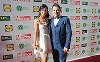 19/05/2015 <br />  Rachel Tracey &amp; Johnny Ward <br /> during the Irish mirror pride of Ireland awards at the mansion house, Dublin.<br /> Photo: gareth chaney Collins