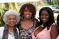 LOS ANGELES - AUG 20:  Nichelle Nichols, Beverly Todd, Julia Pace Mitchell at the Julia Pace Mitchell Bridal Shower at the W Hotel - Westwood on August 20, 2011 in Westwood, CA