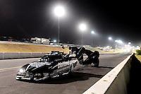 Jul. 16, 2010; Sonoma, CA, USA; NHRA funny car driver Matt Hagan during qualifying for the Fram Autolite Nationals at Infineon Raceway. Mandatory Credit: Mark J. Rebilas-