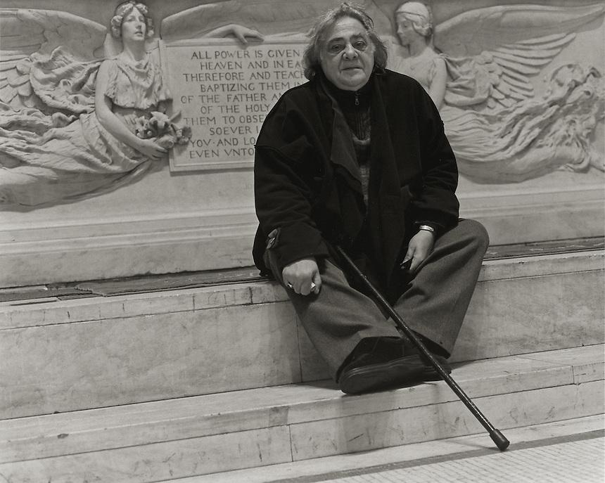 H. M. Koutoukas, 2007.  Playwright.