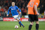 Dundee United v St Johnstone...12.03.14    SPFL<br /> Dave Mackay in action<br /> Picture by Graeme Hart.<br /> Copyright Perthshire Picture Agency<br /> Tel: 01738 623350  Mobile: 07990 594431