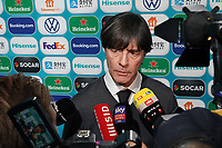 Bundestrainer Joachim Loew (Deutschland Germany) im Interview - 30.11.2019: UEFA EURO2020 Auslosung, Romexpo Bukarest, DISCLAIMER: UEFA regulations prohibit any use of photographs as image sequences and/or quasi-video.
