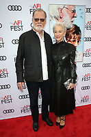 HOLLYWOOD, CA - NOVEMBER 12: Taylor Hackford and Helen Mirren at The Leisure Seeker Special Screening During AFI Fest 2017 at the Egyptian Theatre in Hollywood, California on November 12, 2017. <br /> CAP/MPI/FS<br /> &copy;FS/MPI/Capital Pictures