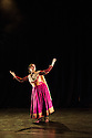 London, UK. 18.04.2013. Sonia Sabri Company present KAAVISH in the Purcell Room, Southbank Centre. Picture shows: Sonia Sabri in BAJE. Photograph © Jane Hobson.