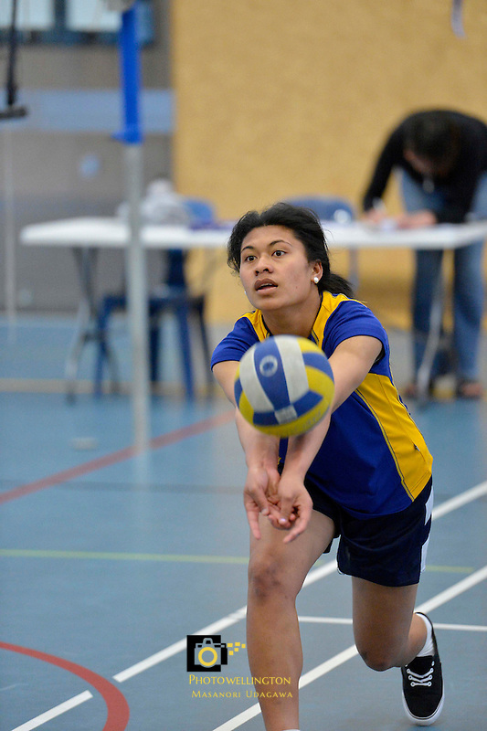 Volleyball Hutt Valley Division 1 Upper Hutt 1 v St Oran's 1 28/09/2012<br />