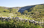 Malham Cove, Yorkshire Dales national park, England, UK