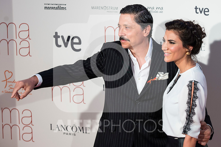 Carlos Bardem and Cecilia Gessa attends to the premiere of &quot;Ma Ma&quot; at Capitol Cinemas in Madrid, Spain. September 09, 2015. <br /> (ALTERPHOTOS/BorjaB.Hojas)