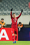 Shanghai FC Forward Oscar Emboaba Junior celebrating his score during the AFC Champions League 2017 Group F match between Shanghai SIPG FC (CHN) vs Western Sydney Wanderers (AUS) at the Shanghai Stadium on 28 February 2017 in Shanghai, China. Photo by Marcio Rodrigo Machado / Power Sport Images