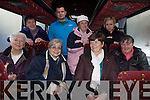 Kerry Community Transport has reported a huge increase in numbers this year and according to passengers who use this service on a regular basis it is a vital link for the local community. .Back L-R  Bridie O'Shea, Thomas Kellner, Ann O'Sullivan and Zdenka Tandlerova.Front L-R Mary O'Leary, Lynn Weeks, Eileen Griffin passengar assistant with the service and  Mary Lucey