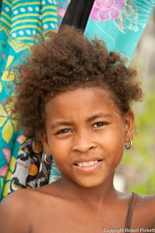Young child smiling, Ifaty, Madagascar