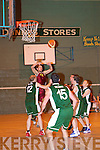 Danny Collins (Tralee Tiger) leaps higher than ............ ....................
