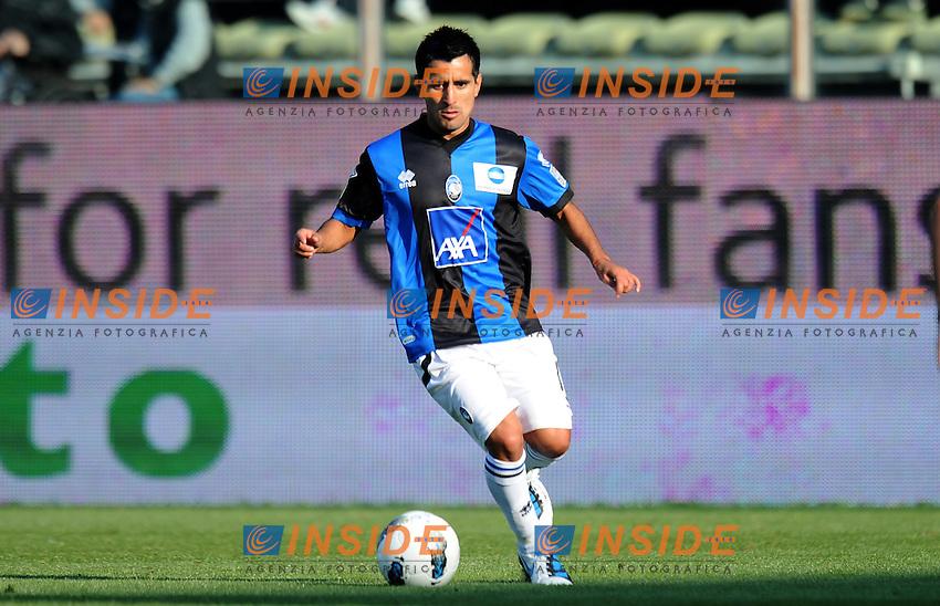 "Maximiliano MORALEZ  (Atalanta).Parma 23/10/2011 Stadio ""Ennio Tardini"".Serie A 2011/2012.Football Calcio Parma Vs Atalanta.Foto Insidefoto Alessandro Sabattini."